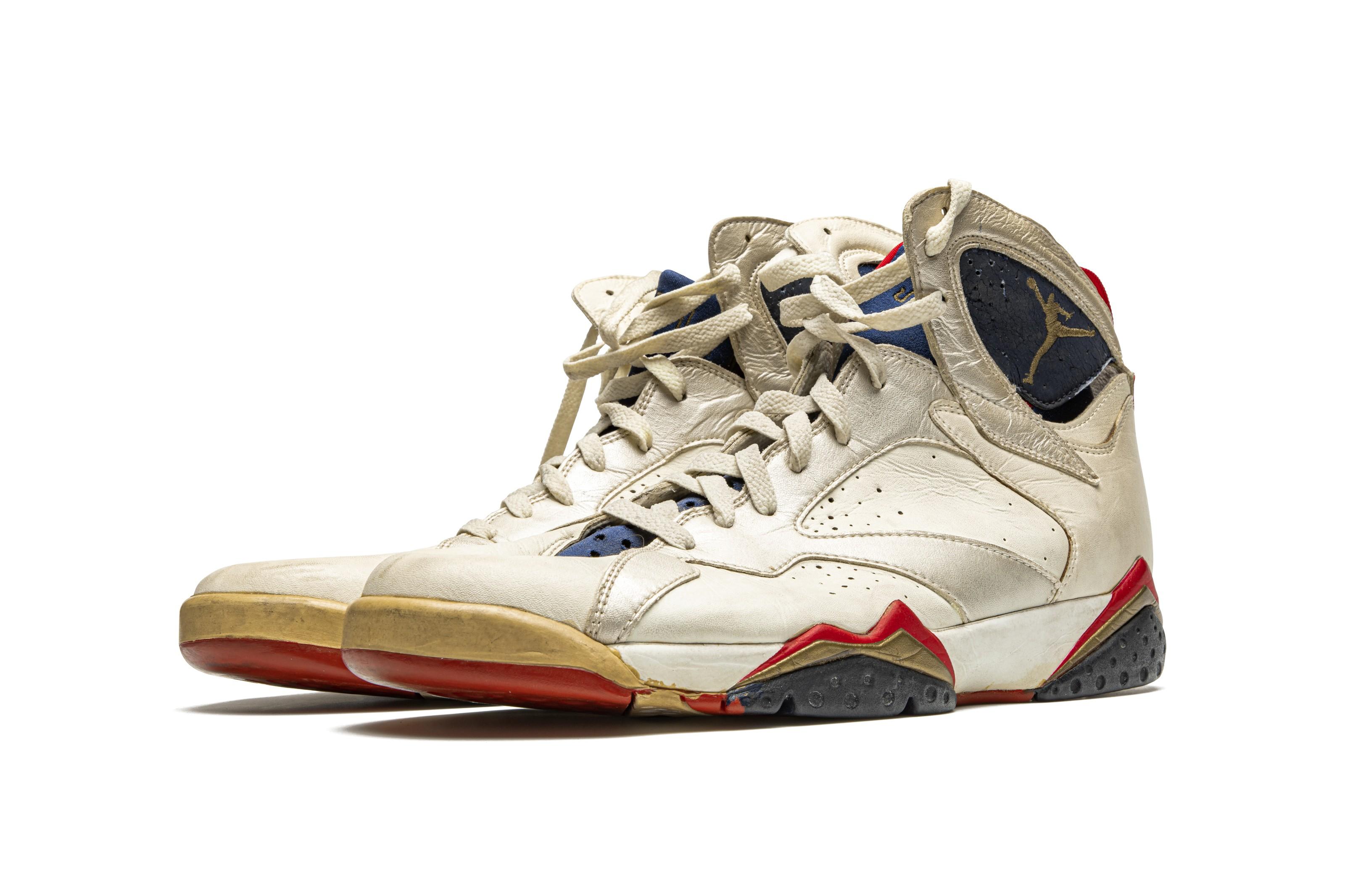 """Air Jordan 7 """"Olympic,"""" Player"""