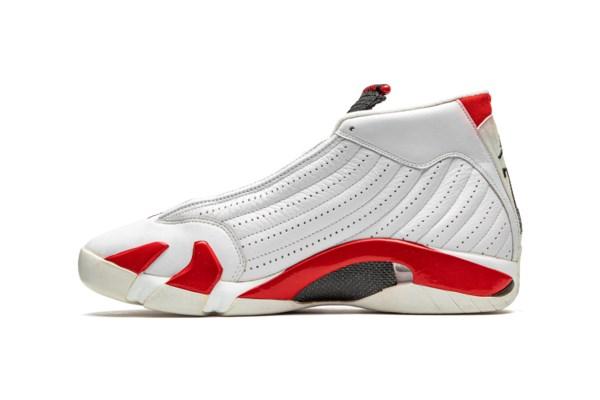 """Air Jordan 14 """"Chicago,"""" Player Exclusive, Practice-Worn Sneaker"""