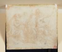 Orphée jouant de la musique pour Pluton, Perséphone et Cerbère (recto); Étude de figures (verso)