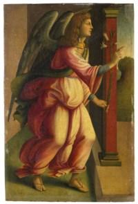 L'Annonciation: L'Archange Gabriel; La Vierge Marie
