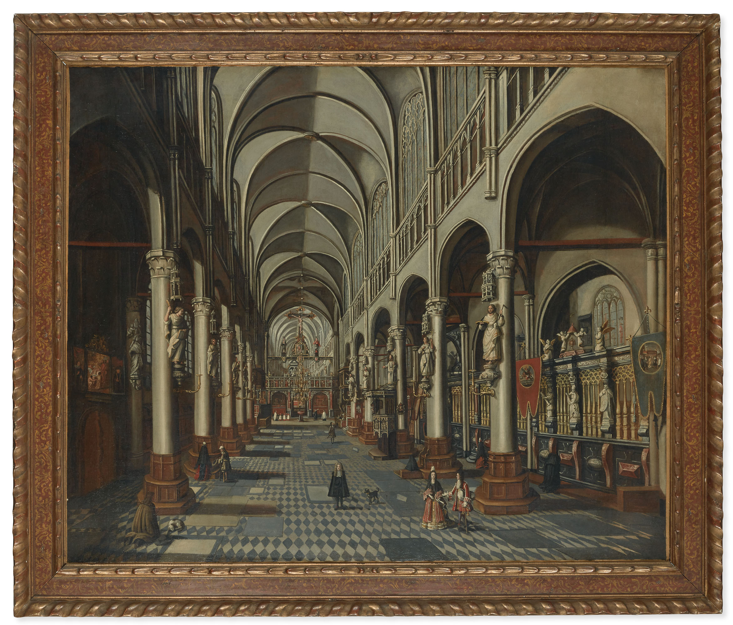 JAN BAPTIST VAN MEUNINCXHOVE (BRUGES 1620/1625-1703)