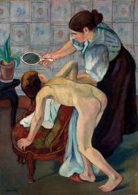 La petite fille au miroir