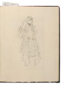 KLIMT, Gustav (1862-1918) – LUCIEN DE SAMOSATE (circa 120-180) – BLEI, Franz, trad. (1871-1942). Die Hetaerengespraeche des Lukian. Leipzig : Julius Zeitler, 1907.
