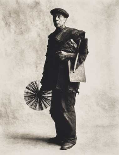 Irving Penn (1917-2009), Chimney Sweep, London, 1950. Montage 57 x 45.5  cm (22½ x 17⅞  in). Estimate €60,000-80,000. Offered in Photographs on 10 November 2020 at Christie's in Paris