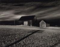 Two Barns, Dansville, New York, 1955
