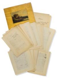 SAND, George, Aurore Lucile Dupin dite (1804-1876). Lavinia. Une vieille histoire (an old tale). Manuscrit autographe signé. Ca. 1833.