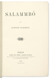 FLAUBERT, Gustave (1821-188