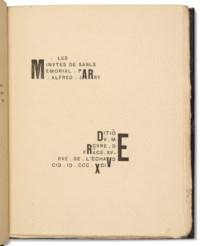JARRY, Alfred (1873-1907). Les Minutes de sable Mémorial. Paris : Mercure de France, 1894.