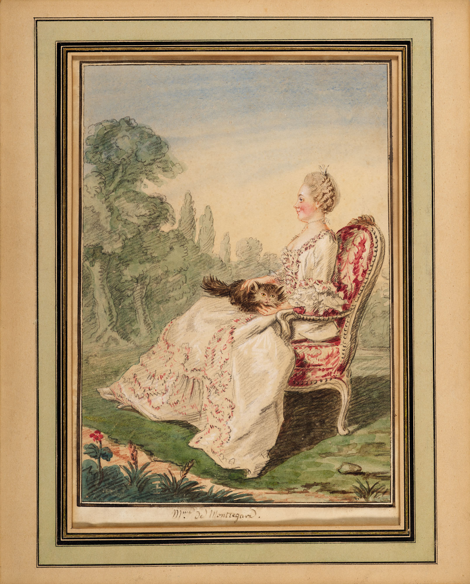 LOUIS CARROGIS DIT CARMONTELLE (PARIS 1717-1806)