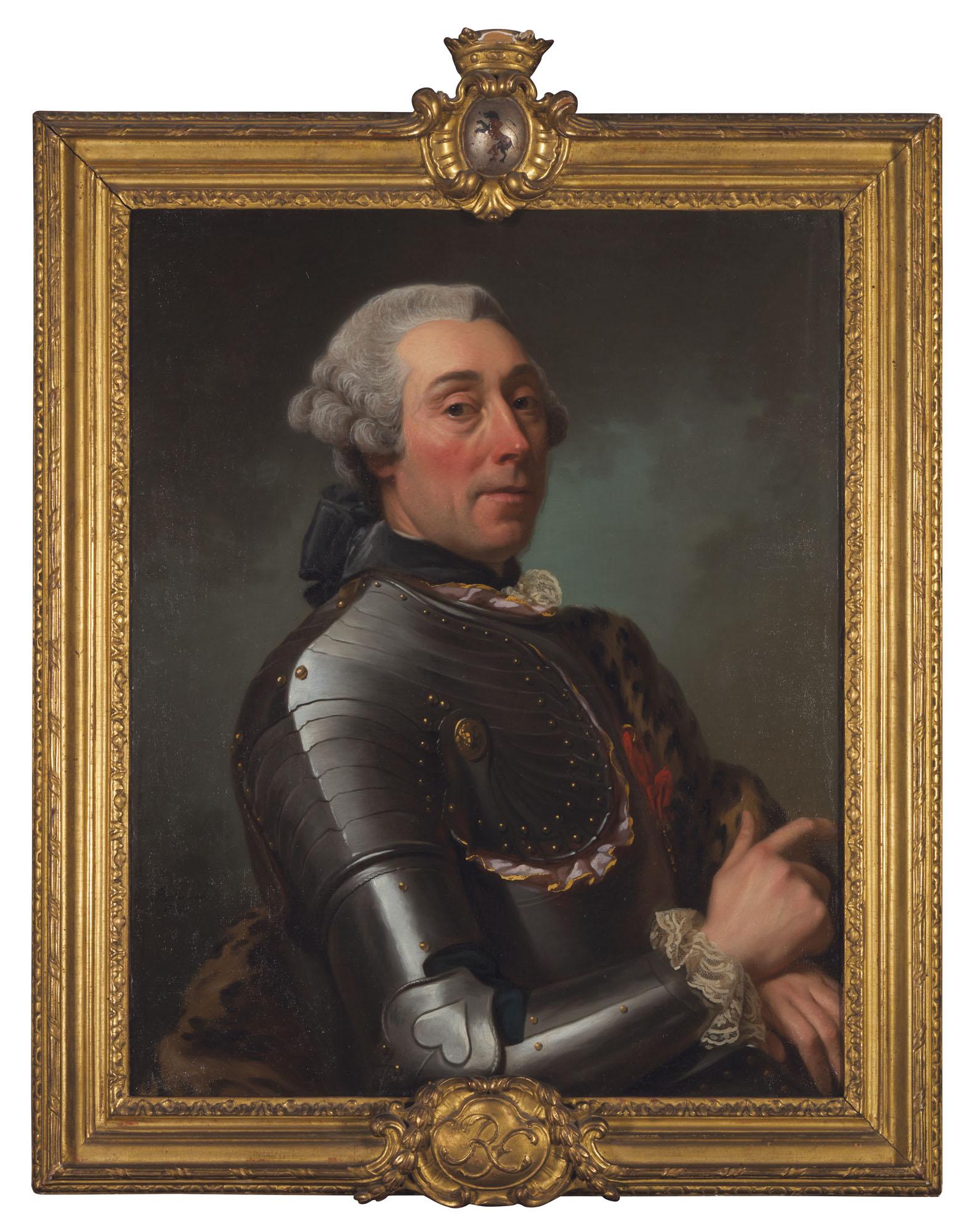 ÉCOLE SUÉDOISE DU XVIIIE SIÈCLE, ENTOURAGE D'ALEXANDRE ROSLIN