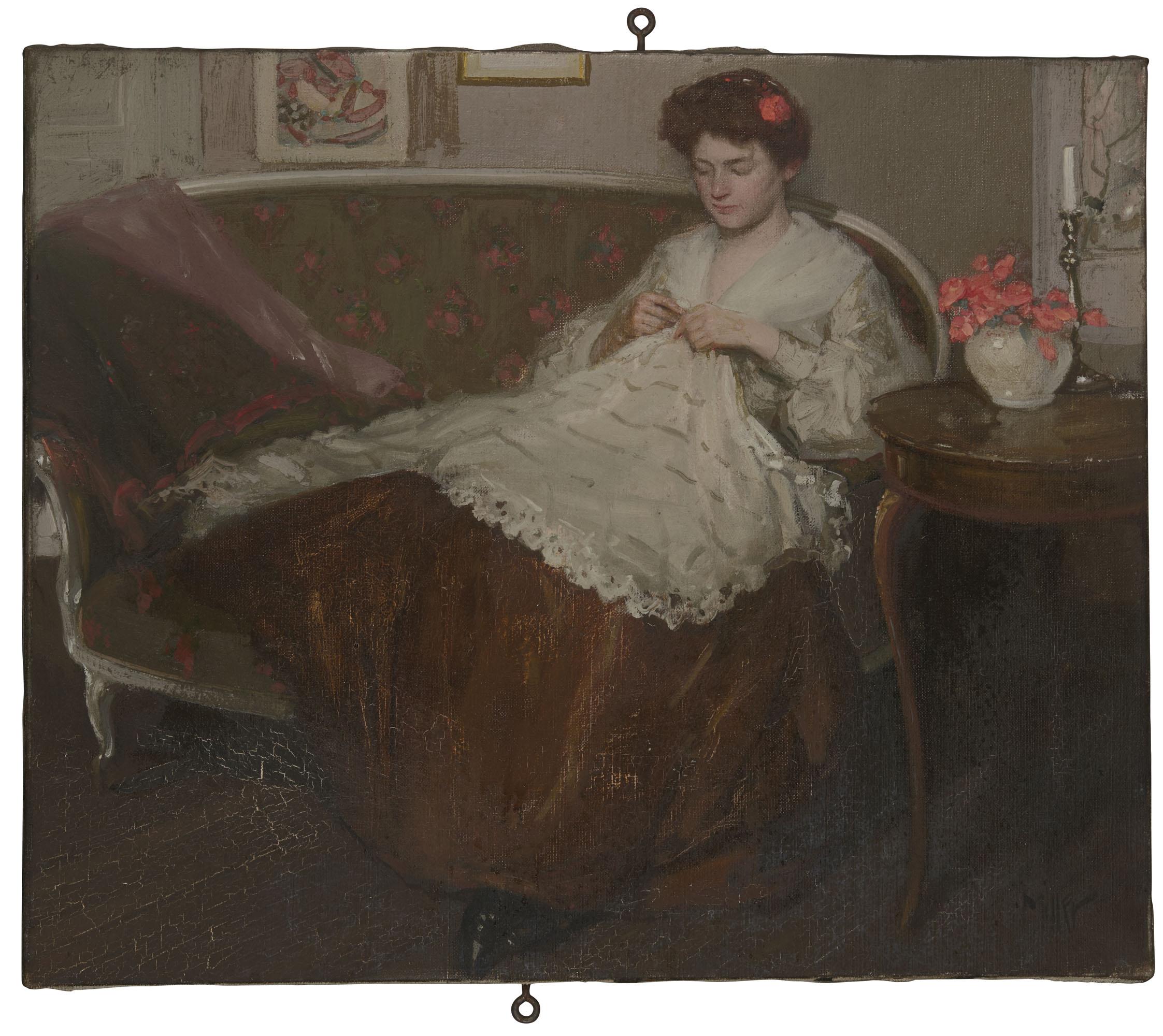 ATTRIBUÉ À RICHARD E. MILLER (1875-1945)