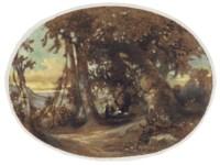 CHARLES DAMOUR (PARIS 1813-186