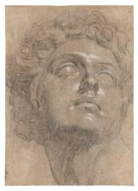 Head of Giuliano de' Medici, after Michelangelo