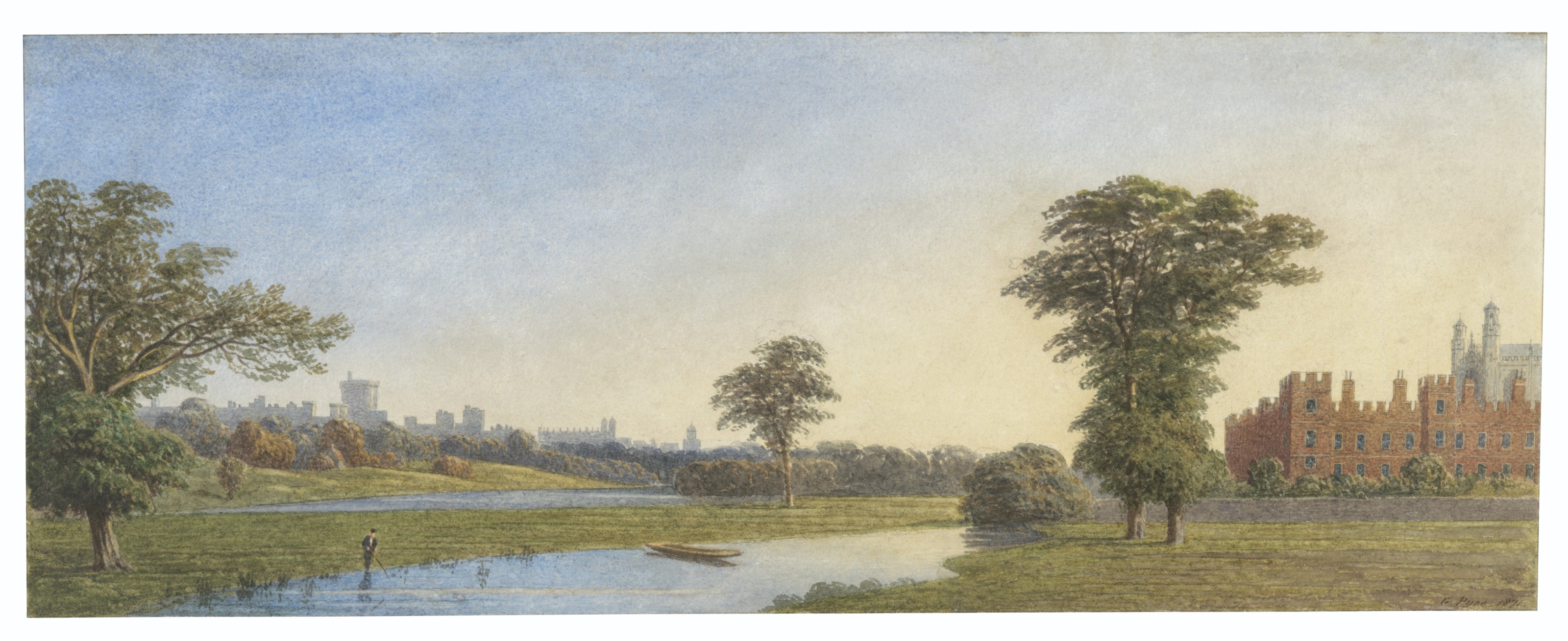 GEORGE PYNE (LONDON 1800-1884 OXFORD)