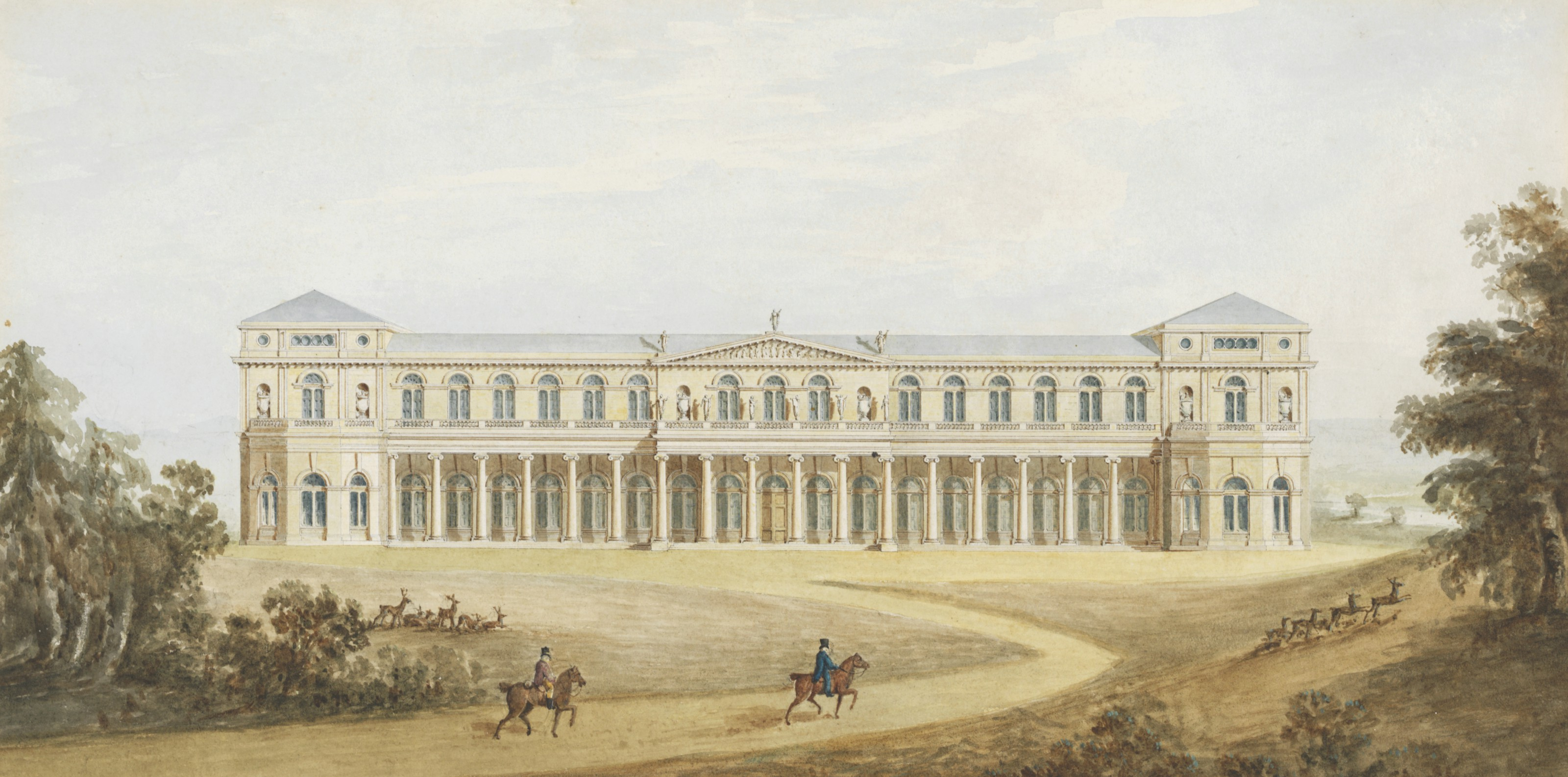 ATTRIBUTED TO BENJAMIN DEAN WYATT (LONDON 1775–1852) OR PHILIP WILLIAM WYATT (LONDON 1785-1835))