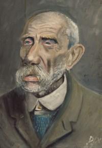 Alter Mann (sogenannter Fremdenlegionär)