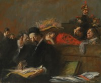 La Prévenue ou Audience de tribunal