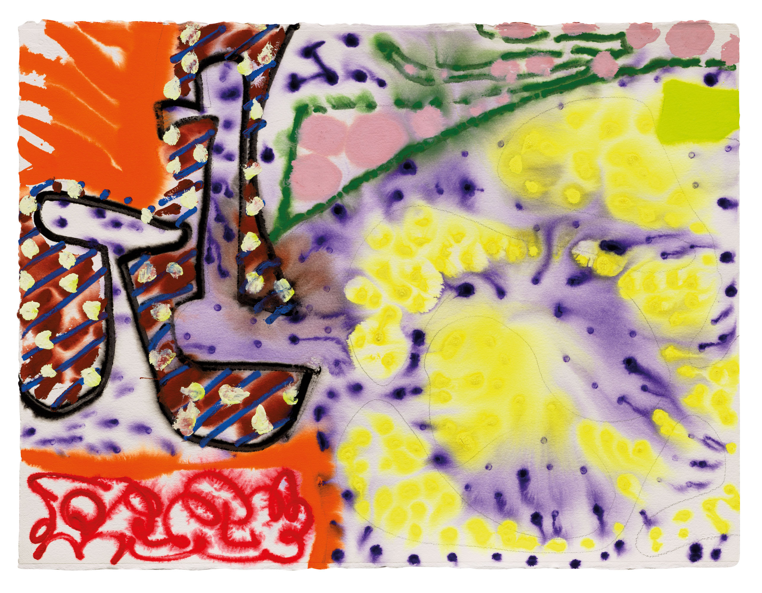 Patrick Heron (1920-1999),Sydney 21 December, 1989. Charcoal and gouache on paper. 22¾ x 29⅞ in (57.8 x 76 cm). Estimate £10,000-15,000. Offered inModern British Art Day Sale, 2 March at Christie's London
