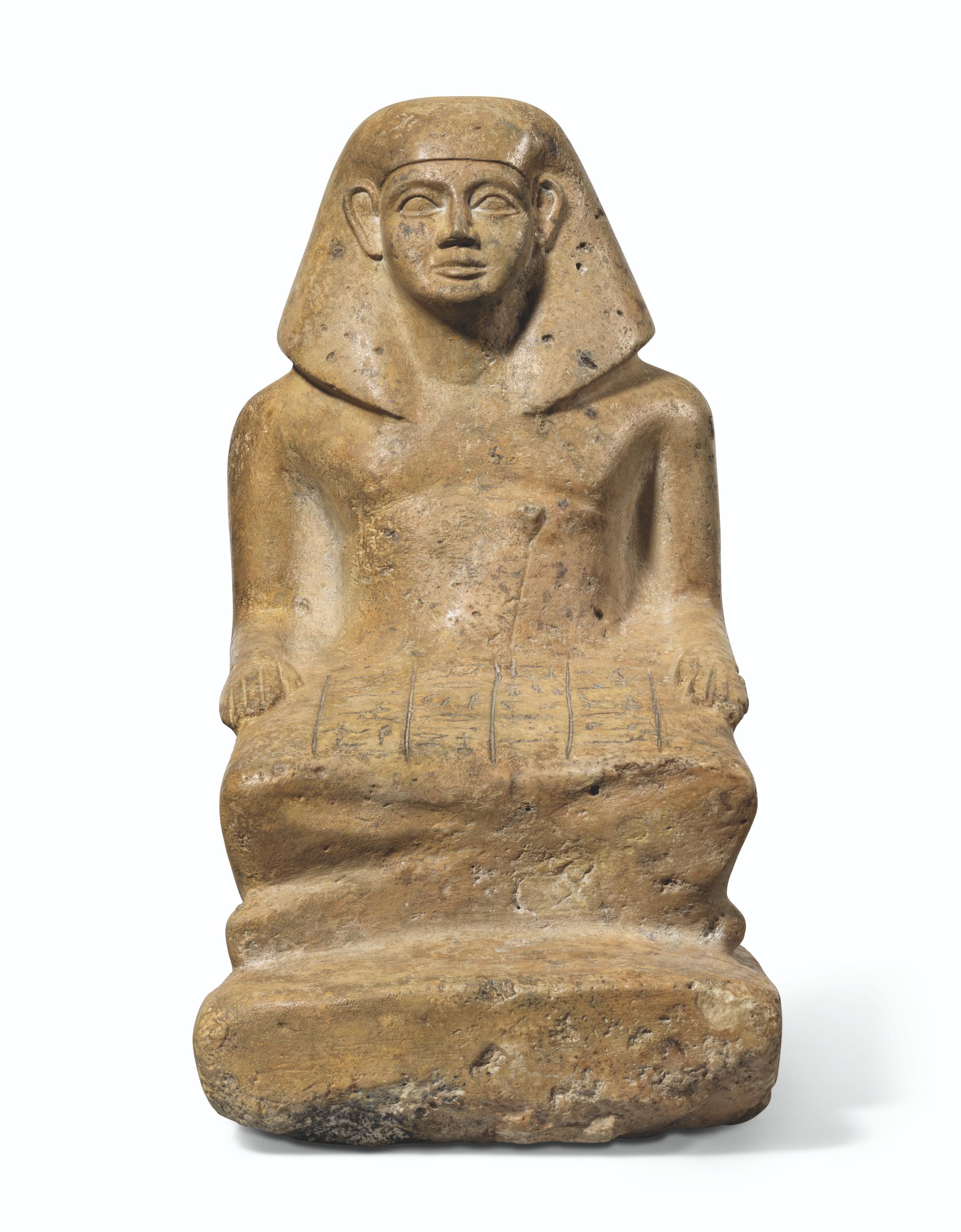AN EGYPTIAN FLINT