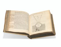 Discours de la méthode pour bien conduire sa raison, et chercher la vérité dans les sciences. Plus la dioptrique. Les météores. Et la géométrie. Leiden: Jan Maire, 1637.