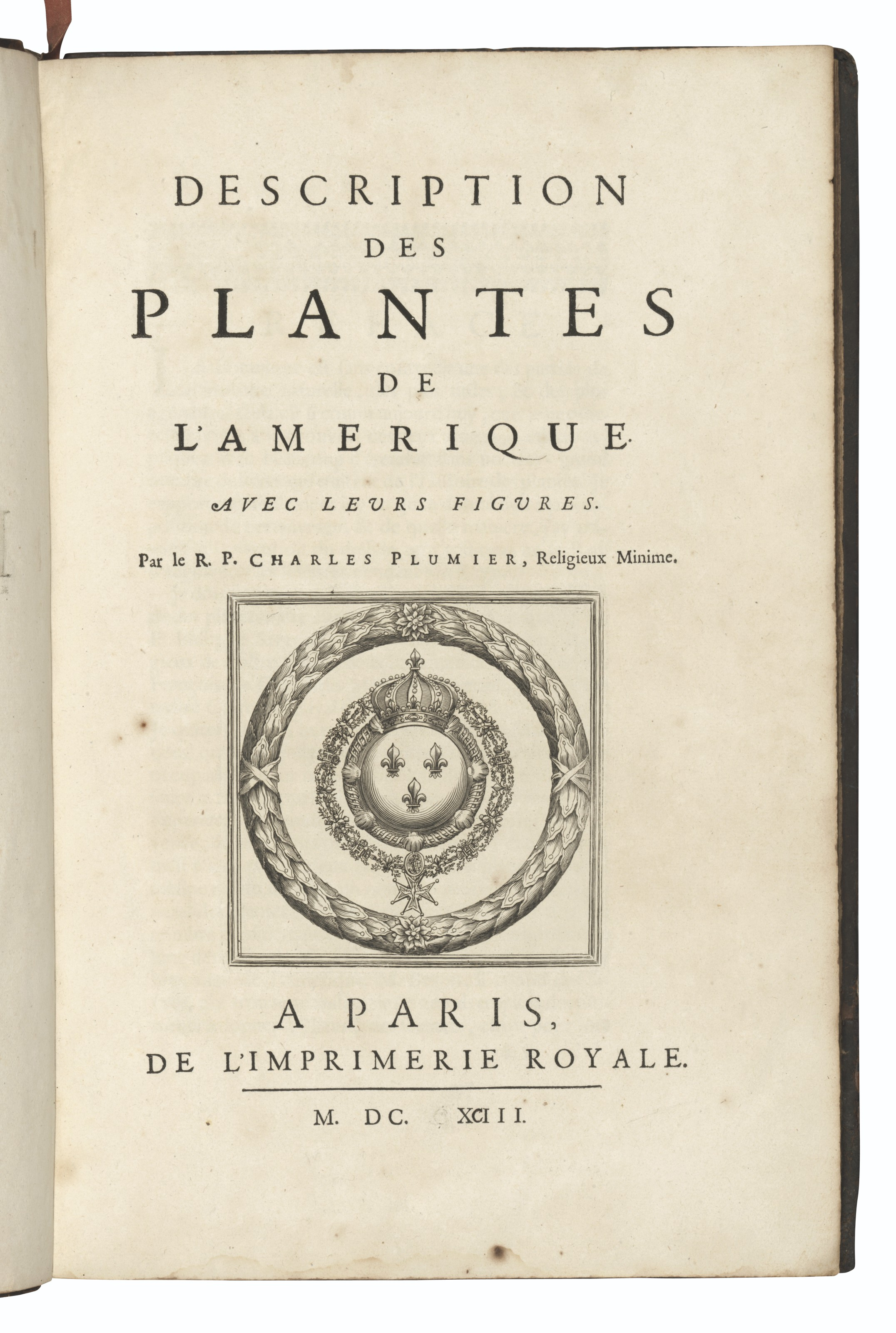 PLUMIER, Charles (1646-1704).