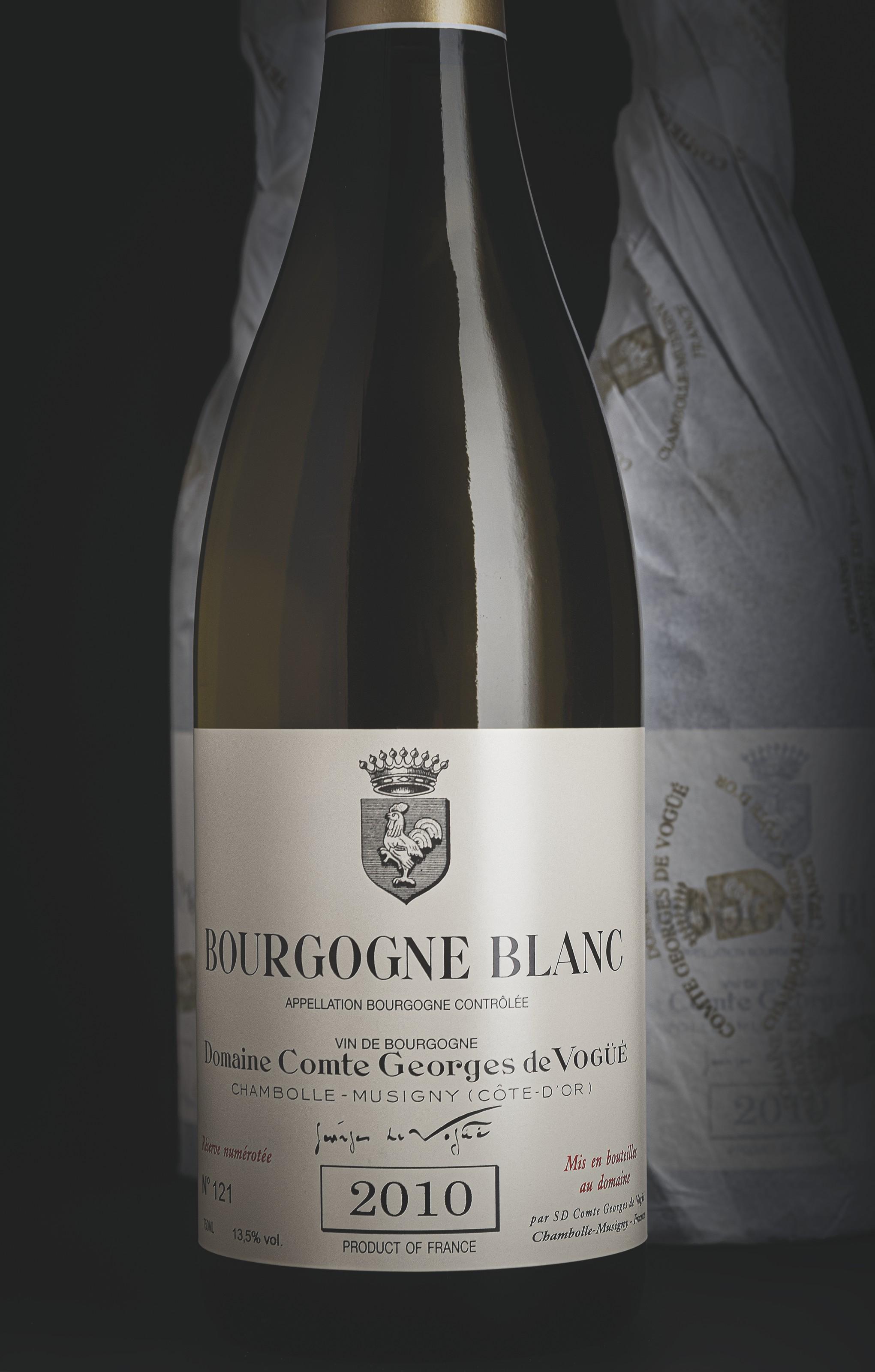 Domaine Comte Georges de Vogüe, Bourgogne Blanc 2010
