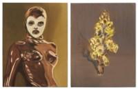 (i) Les Masques (Tess) (ii) Fleur du désert jaune