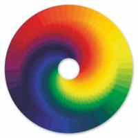 Colour experiment no. 15 (large inside spiral)