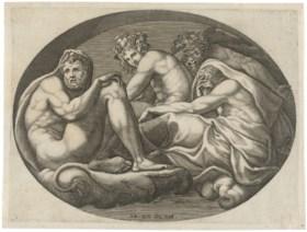 GIORGIO GHISI (1520-1582) AFTER FRANCESCO PRIMATICCIO (1504-