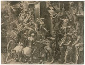 GIORGIO GHISI (1520-1582) AFTER GIOVANNI BATTISTA SCULTORI (
