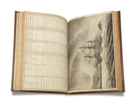 Manuscript Ship's Logs of William Lord, midshipman.