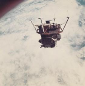 The first crewed lunar module: Russell Schweickart's spacewa
