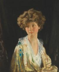 Portrait of Lady Evelyn Herbert