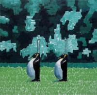 Untitled (Penguin Trolleys)