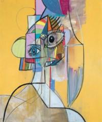 Multicolored Portrait