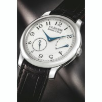F.P. JOURNE. AN IMPORTANT PLATINUM WRISTWATCH WITH POWER RESERVE, MADE AND PRESENTED TO PAY TRIBUTE TO GEORGE DANIEL
