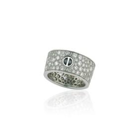 CARTIER 'LOVE' DIAMOND RING