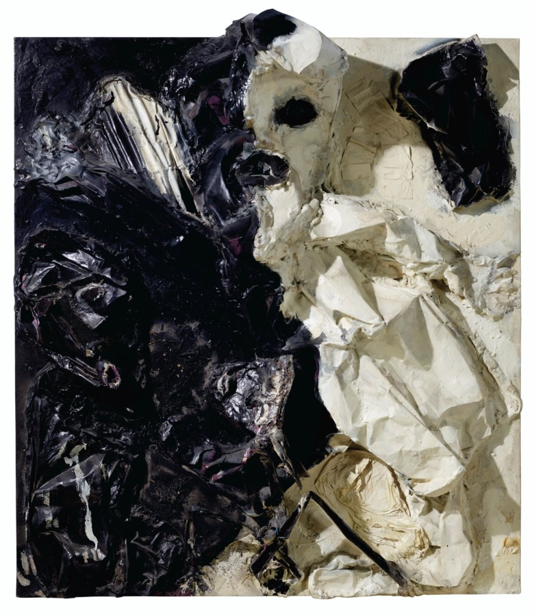 Thornton Dial (1928-2016), Representative, 1994. Mixed media on canvas mounted on board. 65 in (165.1 cm) high, 58 in (147.3 cm) wide, 17½ in (44.5 cm) deep. Estimate $20,000-40,000. Offered in Outsider and Vernacular Art on 21 January 2021 at Christie's in New York