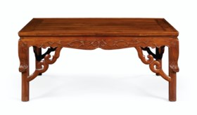 A HUANGHUALI SQUARE LOW TABLE