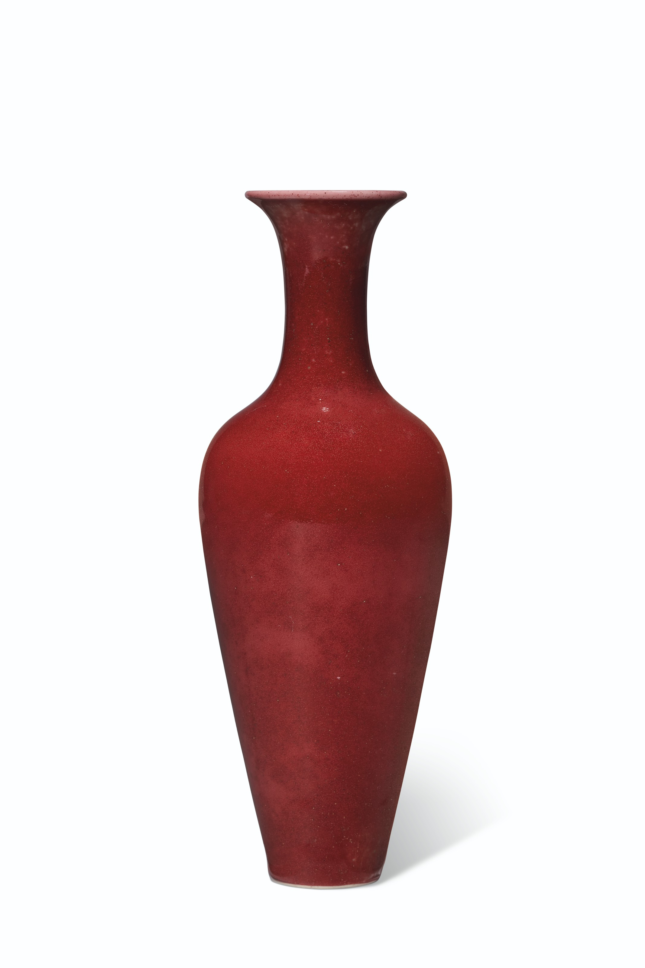 A PEACHBLOOM-GLAZED AMPHORA, LIUYE ZUN