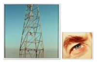Eye #8 (Electric Tower) and 4:29, Van Nuys from the series Compulsion, 2012