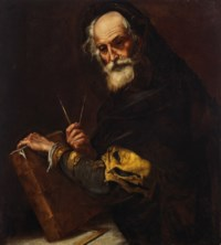 A philosopher (Archimedes?)
