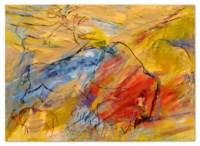 Red Bison/Blue Horse