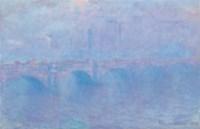 Waterloo Bridge, effet de brouillard