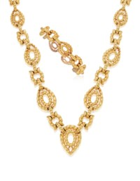 DAVID WEBB GOLD NECKLACE