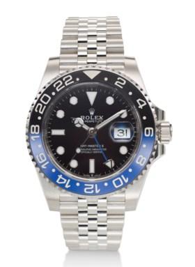 "ROLEX, GMT MASTER II, ""BATGIRL"", STEEL, REF 126710 BLNR"