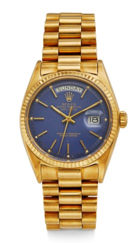 ROLEX, DAY DATE, 18K YELLOW GOLD, REF 1803