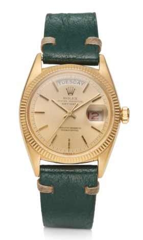 ROLEX, DAY DATE, 18K YELLOW GOLD, REF 6611