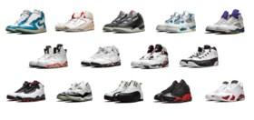 A Complete Set of Original Air Jordan 1-14