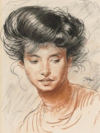 Head of a Girl (Edie McNeill)